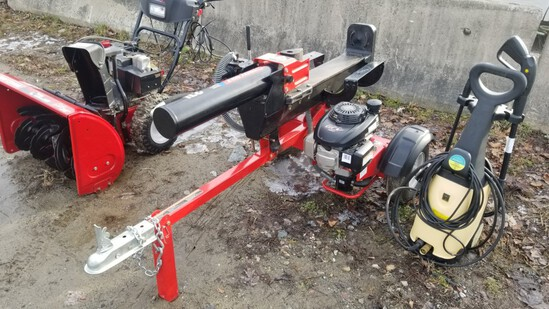 Troy Bilt Log Splitter