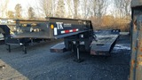 Tandem axle lowbed
