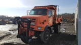 1998 Sterling 6 wheel dump with plow