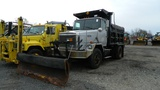 1989 Autocar Dump Truck With Plow And Sander