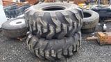 (2) 23.5-25 Loader Tires