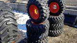 (4) Camso 12-16.5 tires and rims