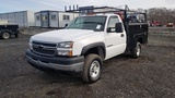 2005 Chevy 2500 Hd Uility Body Truck