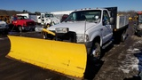 2007 Ford F350 With Plow