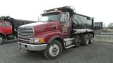 2007 Sterling Triaxle Dump Truck, Vin