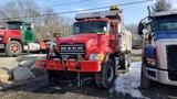 2003 Mack cv713 granite 10 wheel dump truck