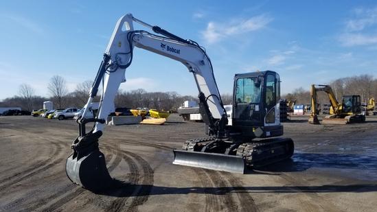 2014 Bobcat E85 Excavator
