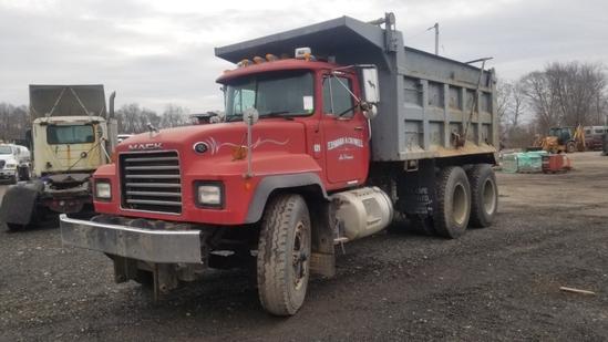 2001 Mack Rd688sx Dump Truck