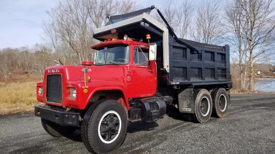 1985 Mack Rd686sx Dump Truck