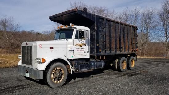 1987 Peterbilt 357 Dump Truck