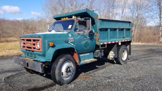 1984 Gmc 7000 Dump Truck