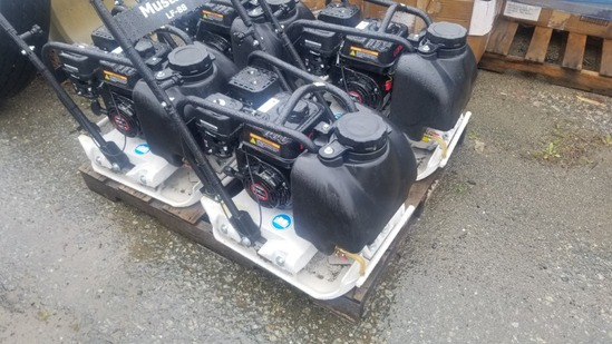 New Mustang LF 88 Plate Compactor