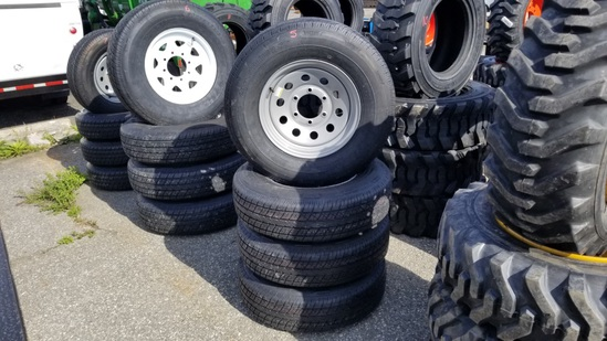 (4) Rainer St 225/75/15 Tires and Rims