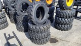 (4) Turbo 10-16.5 Skidsteer Tires