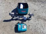 Makita 3pc drill set with charger and case