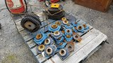 Pallet - Misc Drive chain, sprockers, and