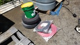 Lot - Air Hose, Tires, Belt Fasteners