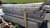 Lot 5x5x10 fence posts