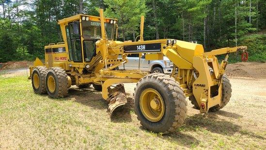Cat 143h Vhp Grader