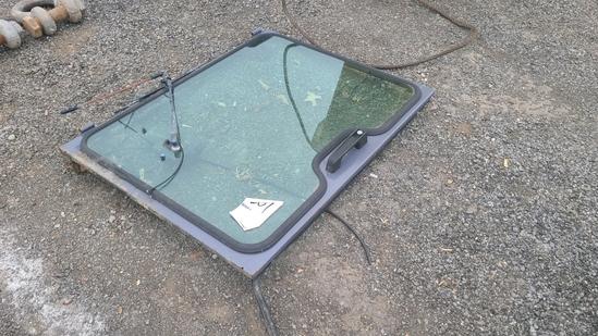 Skidsteer Door / Glass