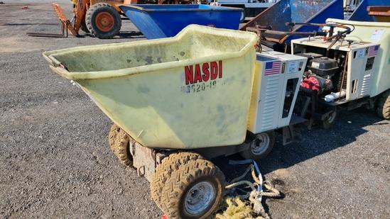 Gas Powered Dump Buggy