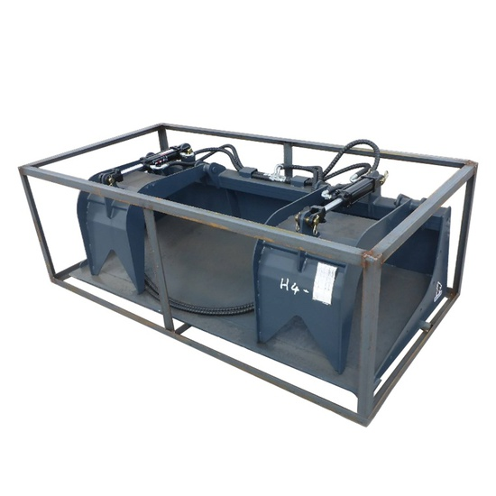 Wolverine HD 2 Cylinder Grapple Bucket