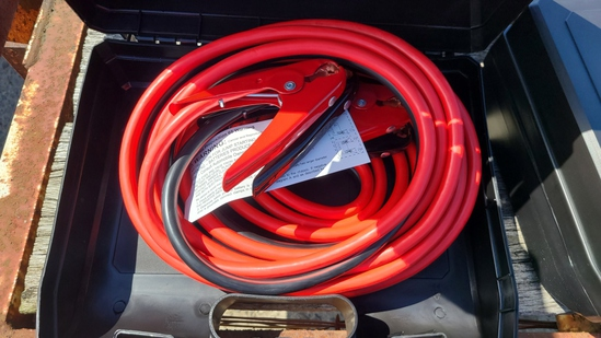 New 25ft, 800 amp extra heavy duty booster cables