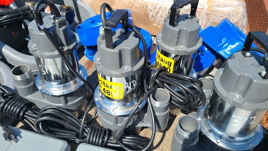 "New Mustang MP 4800   2"" Submersible pump"