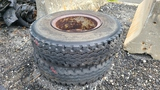 (2) General 11r20 Tires And Rims