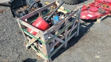 Lot - Misc Filters, Fluids, Gas Caddy