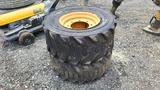 (2) Case 590 Super M Tires And Rims