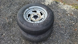 (2) 205/75/14 Tires And Rims