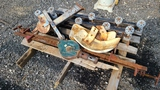 Pallet Lot - Trailer Kit, pulley, clamps