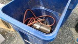 Rolling Bin With Compressor and Hose
