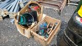 Lot - Welding Masks / Propane Torches