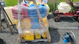 Pallet Lot - Assorted Fuel Cans