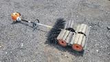 Stihl power broom
