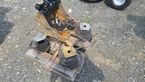 Pallet - Bucket and Assorted Gear Chain