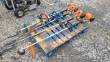 (5) Assorted Stihl  Power Trimmer / Chainsaw