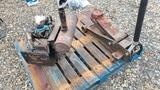 Bobcat 440 Motor and Floor Jack