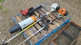 Pallet Lot - Hitch Vise and Trimmer