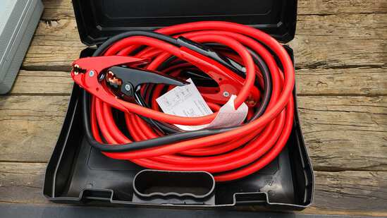 1 gauge 25 ft booster cables