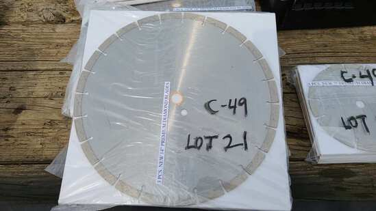 3 pc 14 inch diamond blades