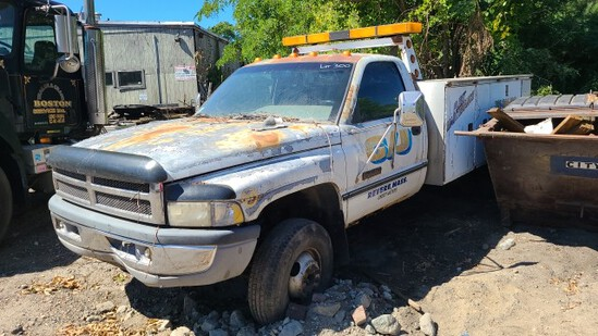 Dodge Ram 3500 Utility Truck