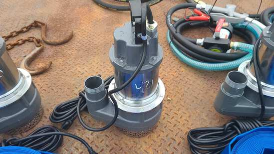 Mustang mp 4800 submersible pump