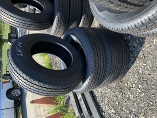 4 Roadguider Trailer Tires ST205/75R15
