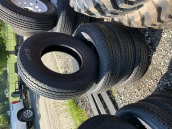 4 Roadguider Trailer Tires DT235/80R16