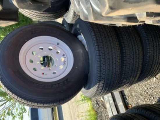 4 Towmax Tires and Rims ST235/80R16