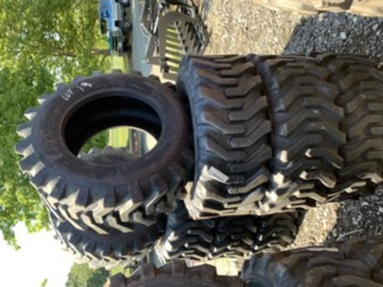 4 Camso Skidsteer Tires 12-16.5