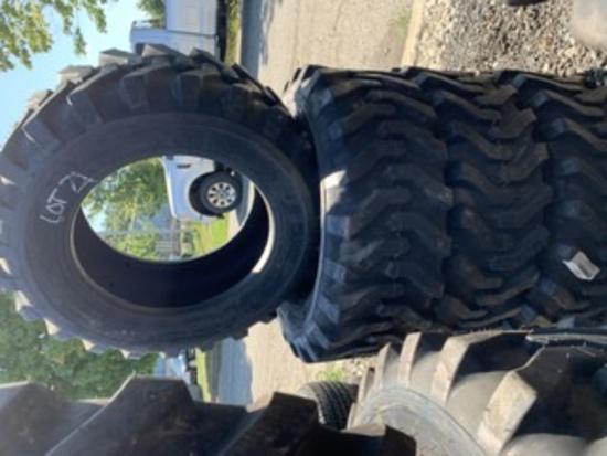 4 Camso Skidsteer Tires 10-16.5